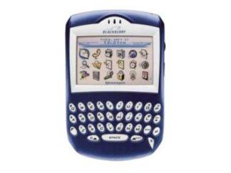 BlackBerry 7210 entsperren