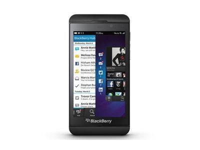 BlackBerry Z10 entsperren