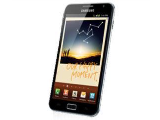 Samsung GT-N7000 Galaxy Note entsperren