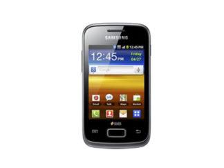Samsung GT-S6102 Galaxy Y Duos entsperren