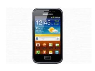 Samsung GT-S7500 Galaxy Ace plus entsperren