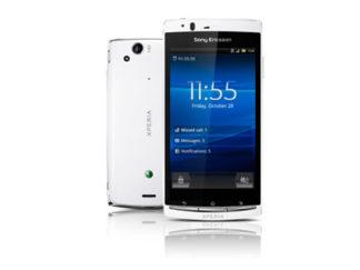 Sony Ericsson Xperia Arc S entsperren