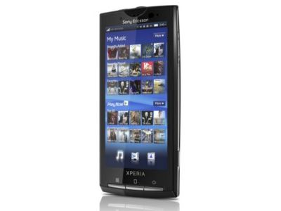 Sony Ericsson Xperia X10 entsperren